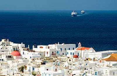 Greece行きフェリー