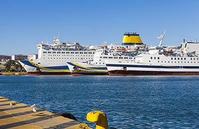 North Aegean Islands行きフェリー
