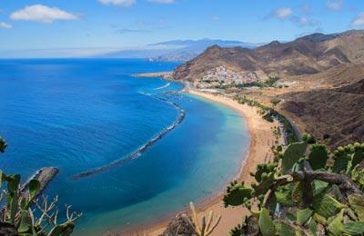Tenerife行きフェリー