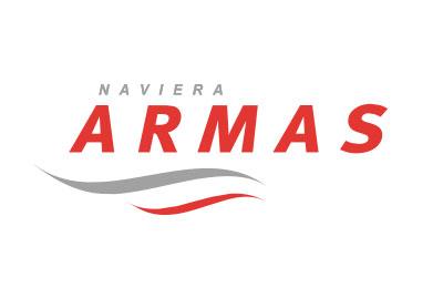 Naviera Armasにてチケット予約